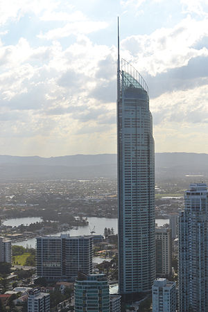 Q1 (building) - The tallest skyscraper in the southern hemisphere and the world's sixth tallest residential building