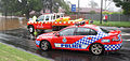 QLD Police and QLD Fire & Rescue attending to a flood rescue in Toowoomba.jpg