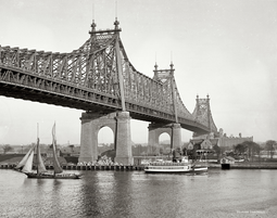 Queensboro Bridge vuonna 1910