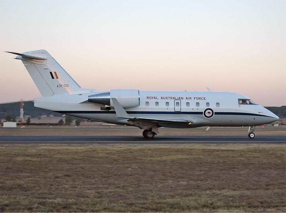 RAAF Bombardier CL-600-2B16 Challenger 604 CBR Gilbert-1