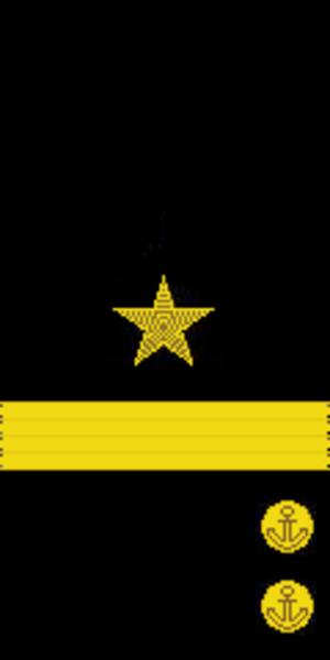 Captain 1st rank - Image: RAF N F5 Kapitan 1st sleeve