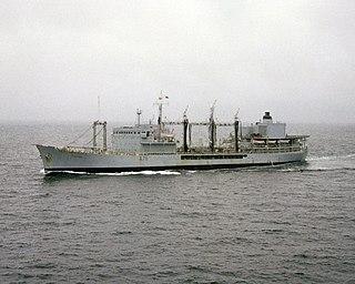RFA <i>Tidepool</i> (A76) former Tide-class replenishment oiler of the Royal Fleet Auxiliary