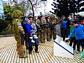 ROCA Special Force Team with Visitors Photographing at Armor School 20130302.jpg
