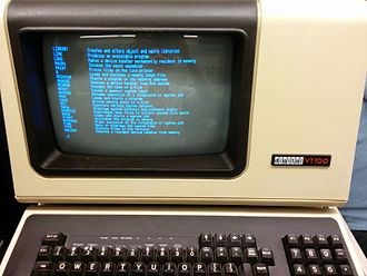 TYPE (DOS command) - Image: RT 11 help