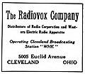 Radiovox advertisement (Cleveland) (1922).jpg