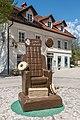 Radovljica Gorenjska cesta festival čokolade Schokoladenthron 10042017 7449.jpg