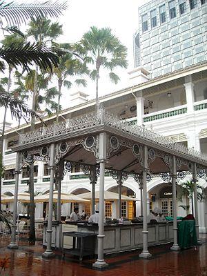 Raffles Hotel - Raffles Hotel, Palm Court Wing