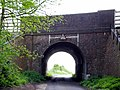Rail bridge over the Weston Colley to Northbrook road - geograph.org.uk - 165802.jpg