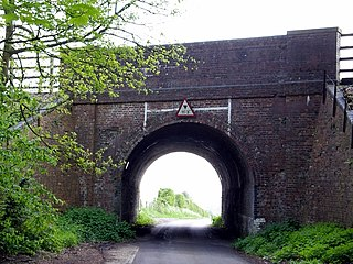 Weston Colley village in United Kingdom