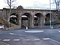 Railway Bridge, Colwyn Bay promenade - geograph.org.uk - 1724751.jpg