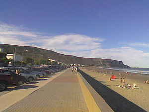 Rada Tilly - Municipal beach