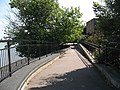 Ramp to the flood barrier near Woolwich - geograph.org.uk - 1454760.jpg