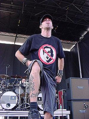 Randy Blythe of Lamb of God at Ozzfest, Jones ...