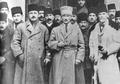 Rauf Orbay, Kemal Atatürk and Rüstem Bilinski at the Sivas Congress (1919).png