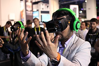 Health technology in the United States - Virtual reality headset