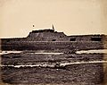 Rear view of the North Fort of Taku on the Peiho River Wellcome V0037625.jpg