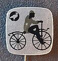 Reclamespeldje van een oud model fiets foto 2.JPG
