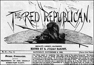 The Red Republican - The headline of the Red Republican, November 1850