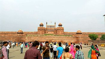 Red Fort's front view.jpg