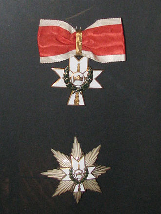 Orders, decorations, and medals of the Independent State of Croatia - Order of the Crown of King Zvonimir with Star and Oak Wreath
