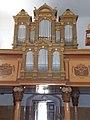 Reformed church, pipe organ, 2017 Fehérgyarmat.jpg