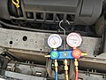 Regassing the aircon of a Ford Focus 2017 02.jpg