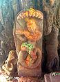 Relief of Lord Krishna in dance posture(Kaalinga Mardhanam) at Simhachalam.jpg