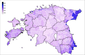 Demographics of Estonia - Religious people in Estonia