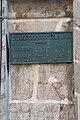 Remoray-Boujeons - Plaque de cocher sur église.jpg