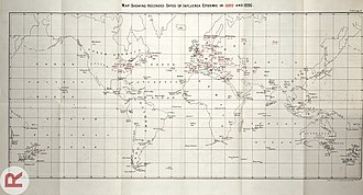1889–90 flu pandemic - Image: Report on the influenza epidemic of 1889 90 Wellcome L0032790