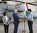 Representatives of Indian Air Force for accepting the first AH-64E (I) Apache Guardian helicopter from Boeing and US government - 2.jpg