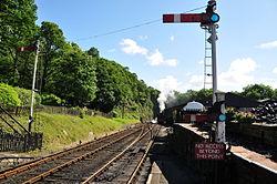 Repulse at Haverthwaite railway station (6575).jpg