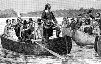 Free Will Baptist - Return of Roger Williams a later supporter of the movement, after denouncing the Puritan movement in 1644