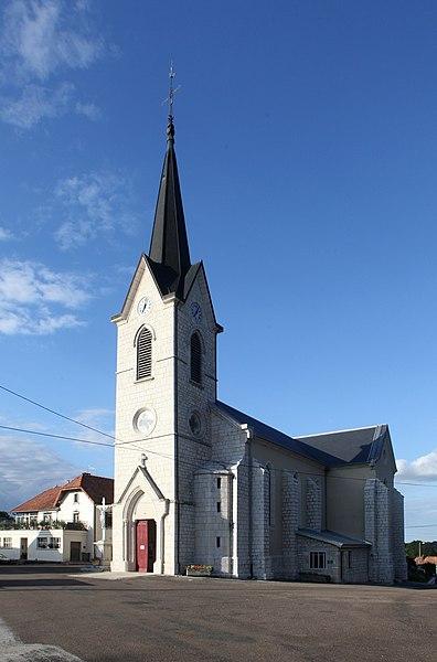 Église de Reugney (Doubs).