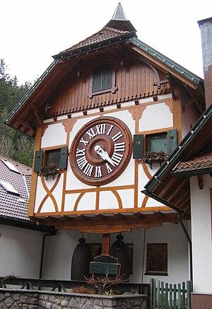Triberg im Schwarzwald - Image: Reuse koekoekklok naby Triberg