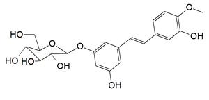 Rhaponticin - Image: Rhaponticin