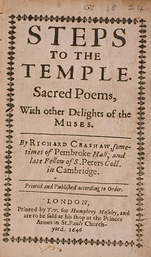 Richard Crashaw seventeenth century