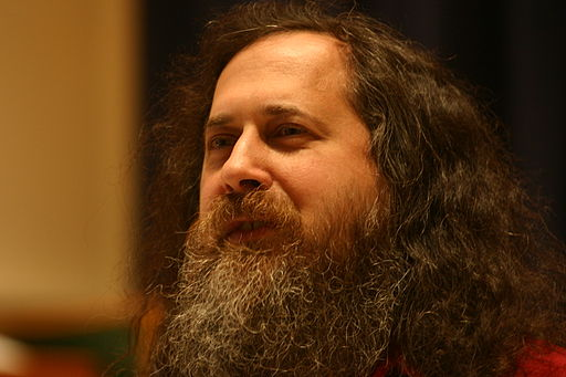 Richard Stallman at Marlboro College