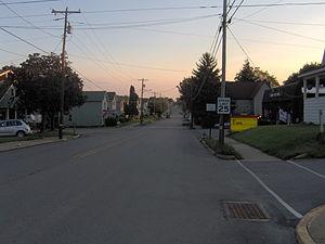 Pennsylvania Route 68 - PA 68 in Rimersburg