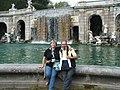 Rinina25 e Twice25 nel parco della Reggia di Caserta.jpg