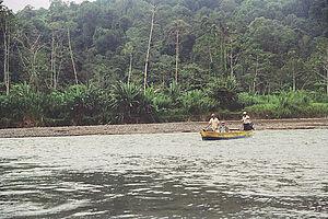 Teribe River - Rio Teribe in Bocas del Toro Province