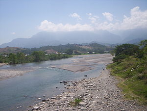 Water resources management in Honduras - The Río Cangrejal in La Ceiba.