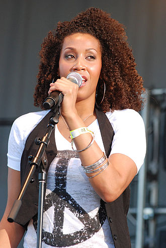 Rissi Palmer - Rissi Palmer performs at the Chicago Music Country Festival 2008 at Soldier Field