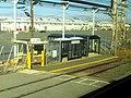 River Works station inbound platform, January 2016.JPG