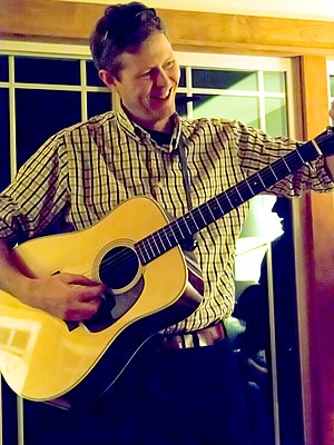 Robbie Fulks - Robbie Fulks playing a house concert on December 14, 2013