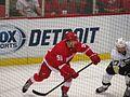 Robbie Russo, Detroit Red Wings vs. Pittsburgh Penguins, Joe Louis Arena, Detroit, Michigan (21081108424).jpg