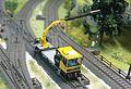 Robel Bullok BAMOWAG 54.22 Track Maintenance Vehicle - DB Bahnbau Kibri 16100 Modelismo Ferroviario Model Trains Modelleisenbahn modelisme ferroviaire ferromodelismo (11696363664).jpg