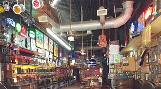 Honky-tonk - Robert's Western World in Nashville, Tennessee, a honky-tonk bar
