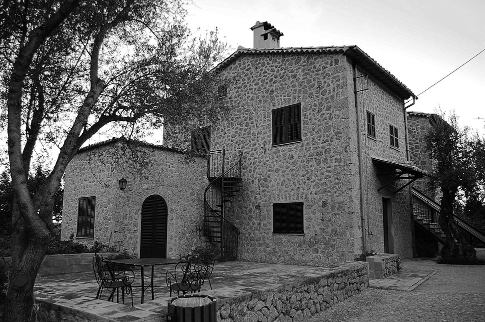 Robert Graves home in Deià