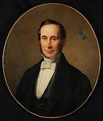 Portret van Adriaen Theodore Prins (1803-1857)